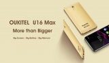 OUKITEL announced U16 MAX