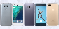 Top five best-selling smartphone brands