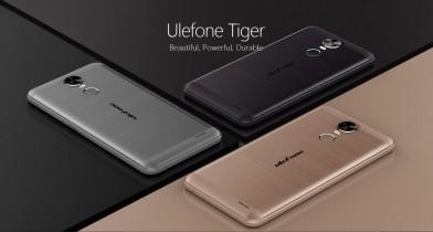 The new Ulefone Tiger provides massive 4200mAh.